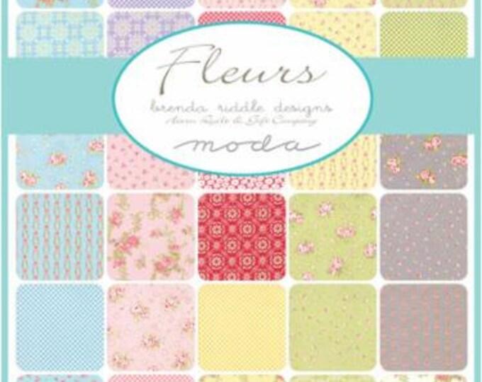 Fleurs by Brenda Riddle - Jelly Roll