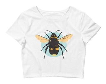 Women's Bee Crop Tee
