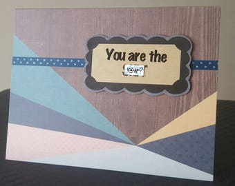 You are the S%!t Handmade Thank You Card