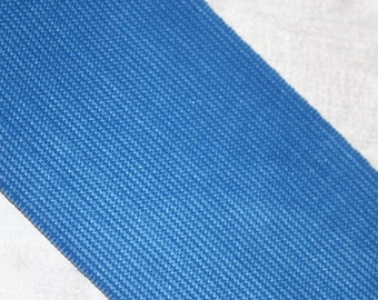 """1 yard Royal Blue 2 or 3"""" wide boxer knit waistband elastic"""