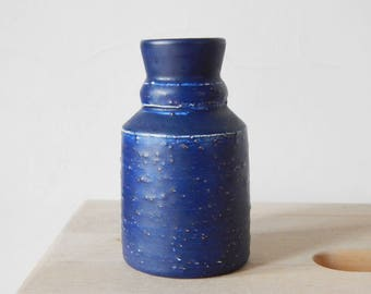 Vintage Nittsjö Ceramic Vase Bottle Vase, Made in Sweden