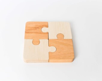 First Jigsaw Puzzle--Montessori Toddler Puzzle