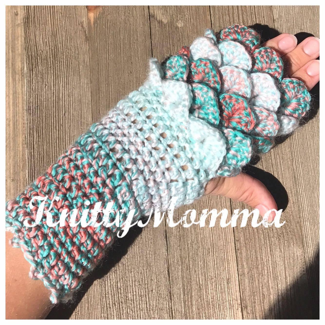 Dragon scale gloves pattern fingerless gloves dragon zoom bankloansurffo Images