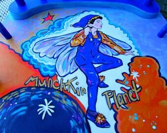 Fairy Rocker, Kids Personalized Rocking Chair, Custom Rocker,Windsor-Rocker,Boston-Rocker