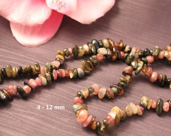 Approximately 300 beads 4-12mm - SQ00106 - natural Tourmaline