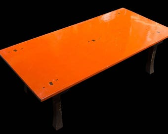 Low Rectangular Lacquered Table - FREE SHIPPING
