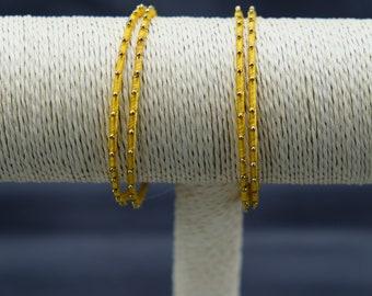 Women's Yellow Bangles