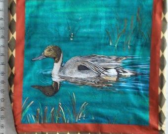Duck Print  Shopping Bag