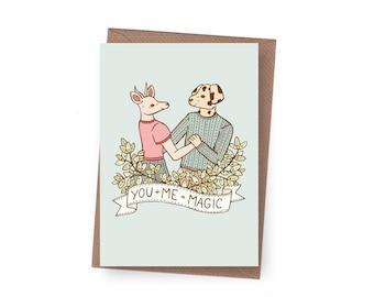 SALE Magic Greeting Card - 60% off