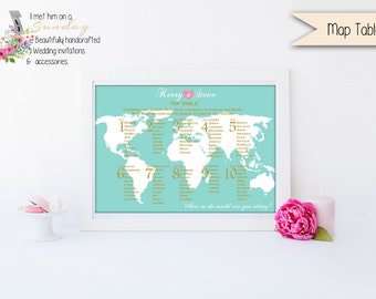 Stunning Map Seating Chart