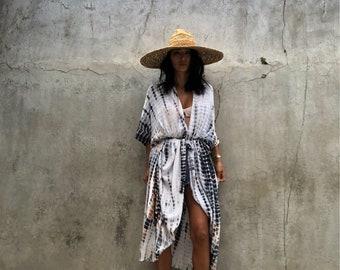 kimono jacket summer/Oversized/Loose fit/Boho jacket/Summer jaceket/Vaction dress