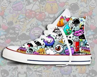 Graffiti Custom Chucks