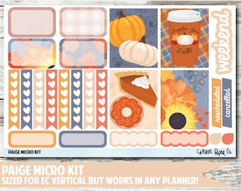 Paige Micro Kit Planner Stickers