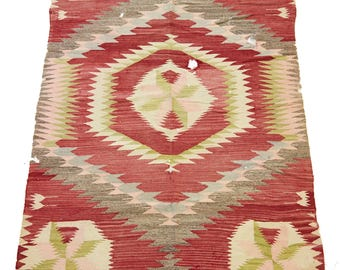 Antique Navajo Blanket Transitional Phase