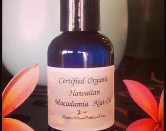 Zertifizierte Bio-Macadamia-Nußöl