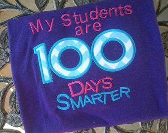 My Students are 100 Days Smarter School Shirt Teacher Shirt Student TShirt