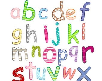 ON SALE alphabet A-Z Digital clip art, letter A to Z clip art, instant download, digital clip art