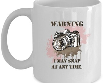 Photography Coffee Mug Photographer cup Gift for photographer women