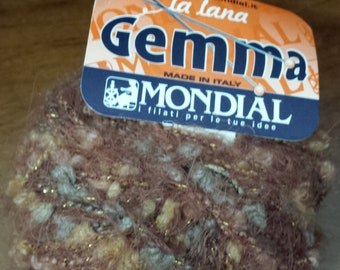Vintage and Discontinued GEMMA yarn by Mondial no. 974_40