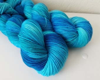 Amity, as you know, means friendship on Sock - Hand Dyed Yarn