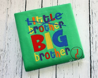 Big Brother Shirt - Middle Brother, Big Brother T Shirt, Big Brother Gift, Big Brother Announcement, Sibling Outfits, Big Brother Little