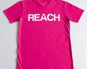 The REACH / ESCAPE  Parkour T-Shirt - Hot Pink