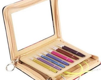 """Knitter's Pride - Zing - 3.5"""" Interchangeable Needle Set 16"""" """"Special"""" short tips- On Sale!"""