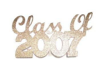 Class of 2007 Centerpiece Stick, 10th Year Class Reunion, 10 Year Class Reunion, 10 Year Reunion, High School Class Reunion, 2007 Reunion