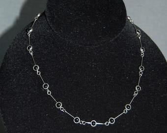 Bead & Bar Necklace