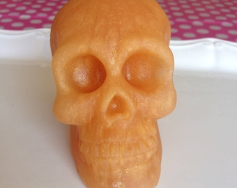 3D Skull Soap - Skull Soap - Halloween Soap - Witchy Soap - Large Soap - Handmade Soap - Choose your scent - Choose your color - Gift Idea