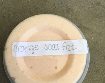 Orange soda fizz