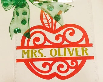 Teacher Gift-Clipboard-Personalized