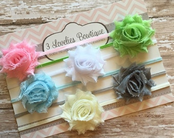 2.00 Each! Set of 6 MINi Headbands, Headband Set, Newborn Headband, Children's Headband, Headband, Baby Headband, Infant Headband, Baby