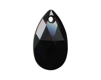 Sale% 9 pcs. Swarovski Crystal 6106 Jet