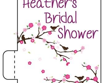 24 Bird Bridal Shower Lip Balm - Spring Wedding Favors - Spring Wedding - Bridal Shower Lip Balm - Flower Bridal Shower