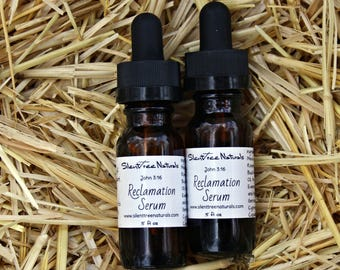 Reclamation Serum - .5 fl oz - Natural Skincare, Facial Serum, All-Natural Moisturizer, Nourishing Face Oil, Natural Products