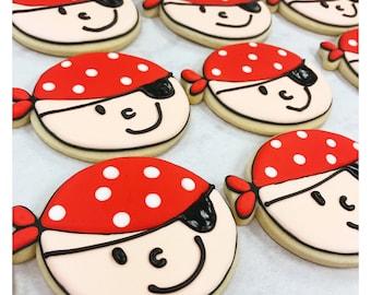 Ahoy Matey!  Pirate Sugar Cookies!