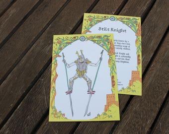 Stilt Knight Character Card