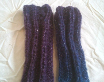 KNITTING PATTERN Ribbed mittens, beginners knitting, knitting for beginners, easy knitting pattern, beginner knitting pattern