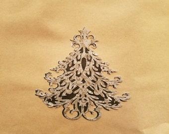 Handmade Christmas gift bag