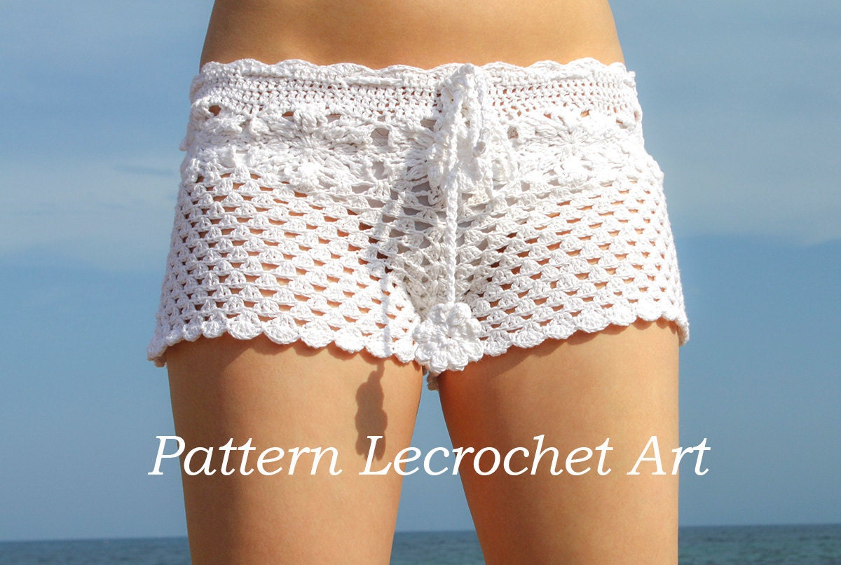 Outstanding Crochet Patterns For Shorts Image Collection - Easy ...