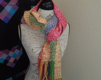 Weaving Pattern for Mad-Libs Scarf