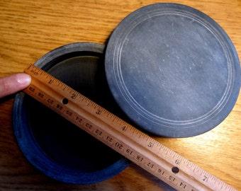 Round Chinese ink grinding stone