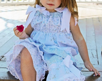 Girl's Boutique Fancy Ruffle Pants clothing sewing pattern PDF tutorial for kid's and children babies toddlers girls INSTANT DOWNLOAD