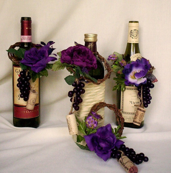 Cork Wedding Decorations: Vineyard Weddings Decoration Set Of 8 Wine BottleToppers Cork
