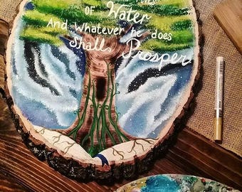 Bible verses paintings on wood!