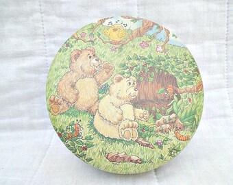 Cave Bears decorative Tin