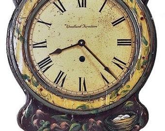 Alder Wood Einer Clock