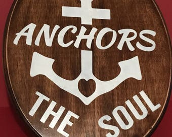 Urban signs-Love Anchors the soul