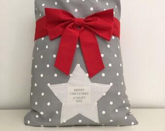 Personalised Christmas Santa Sack - Medium